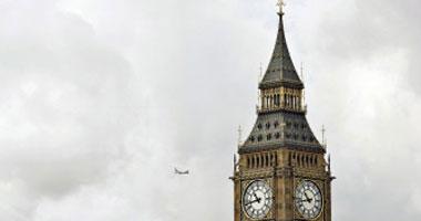 البرلمان البريطانى يحتفل بمرور 160 عاماً على قرع جرس ساعته الشهيرة بيج بن