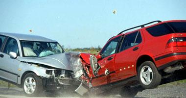 إصابة 4 أشخاص فى حادث تصادم بكفر الشيخ