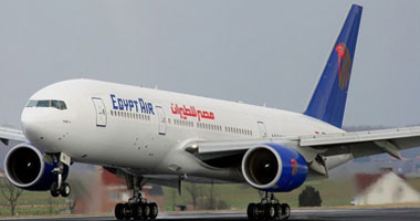 طائرة تابعة لمصر للطيران – صورة أرشيفية