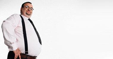 الإصرار والإكثار من شرب المياه والفاكهة سر إنقاص الوزن السريع Fat-man520081001451
