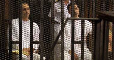 وصول جمال وعلاء مبارك أكاديمية الشرطة لحضور محاكمتهما فى قضية البورصة