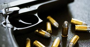 بسلة استخدم سلاحه النارى غير المرخص لتصفية حساباته مع تاجر المواشى