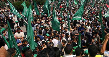 مظاهرات فى غزة احتجاجا على استمرار أزمة الكهرباء