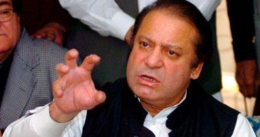 رئيس الوزراء الباكستانى نواز شريف