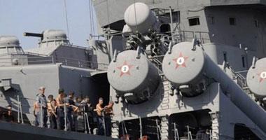 سفن حربية روسية تجرى مناورات ضخمة في بحر بيرنج