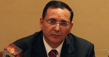 أحمد الزينى رئيس الشعبة العامة لمواد البناء
