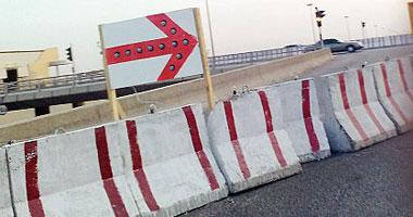 إغلاق طريق القاهرة -الغردقة بسبب الأمطار الغزيرة