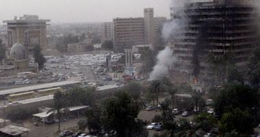 """السيطرة على حريق ببنك """"أبو ظبى الوطنى"""" بالجيزة  S10200927113912"""