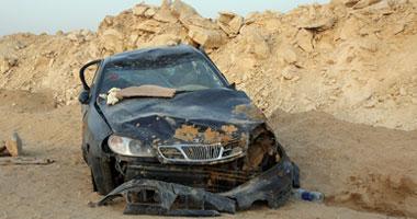 انفجار إطار السيارة سبب انقلابها
