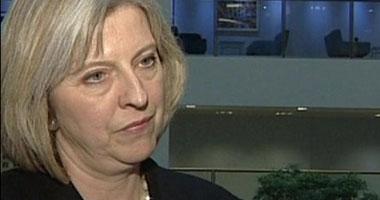 وزيرة الأمن الداخلى فى المملكة المتحدة تريزا ماى