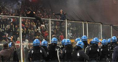 الشرطة تحاصر بلجراد تحسباً لحدوث أعمال عنف فى ديربى العاصمة  السبت، 23 أكتوبر  S10201023124259