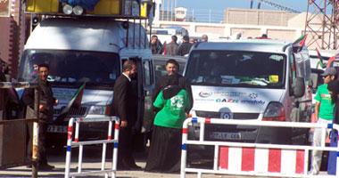 قوافل إغاثة مصرية تنطلق مطروح