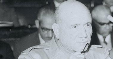 المشير أحمد إسماعيل قائد القوات المسلحة ووزير الحربية