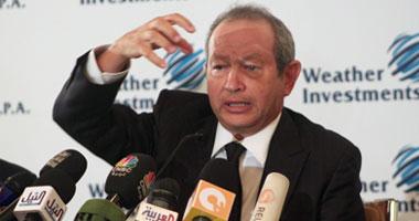 """ساويرس: مبارك استجاب لمطالب """"الحكماء"""""""