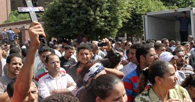 مسيرات احتجاجية للأقباط