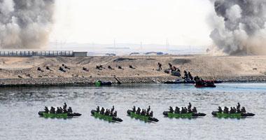 الجيش الثانى الميدانى قتاليا لاقتحام السويس
