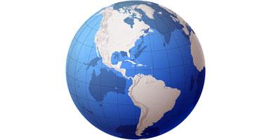 أقدم خريطة للكرة الأرضية تصور العالم الجديد