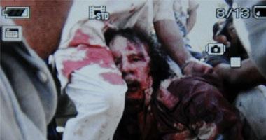 العقيد الليبى الراحل معمر القذافى