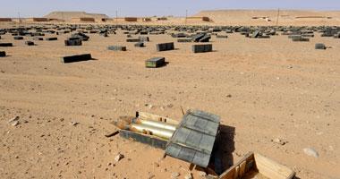 أمن السويس يبطل مفعول 21 لغمًا ودانة مدفع من مخلفات الحروب