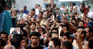إصابة 7 فى مشاجرة بين مواطنين ومسيرة للأقباط متجهة لماسبيرو