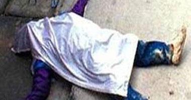 جثة مغطاة