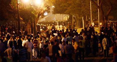 بالصور   الأمن يفض اعتصام الأقباط أمام ماسبيرو ويفتح طريق الكورنيش