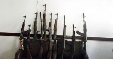 ضبط 260 قطعة سلاح وإعادة 24 سيارة وتنفيذ 17727 حكماً قضائياً