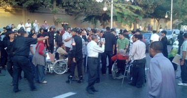 """مرورى أمام """"الاتحادية"""".. واستمرار المتظاهرين"""