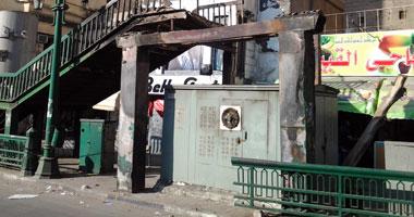 مجهولون يشعلون النيران فى محول كهرباء بقرية بالزقازيق