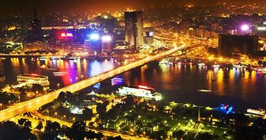 صور مناظر رائعة للمدينة القاهرة ليلا