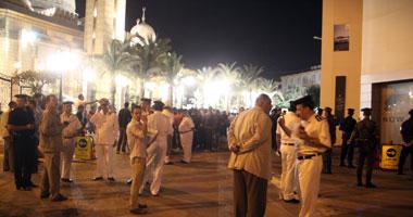 استعدادات أمنية بمحيط الرحمن الرحيم قبل وصول مرسى