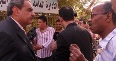الدكتور مصطفى حسين كامل وزير الدولة لشئون البيئة