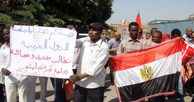شهود: الآلاف يتظاهرون للمطالبة بإقالة قائد شرطة فى بلدة سودانية