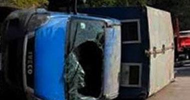 مصدر طبى: ارتفاع عدد قتلى حادث سيارة الأمن المركزى ببنى سويف لـ10 مجندين