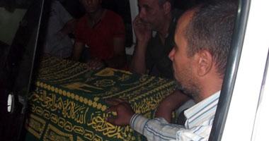تشييع جثمان محمد صلاح الدين محمد التلميذ بالصف الرابع الابتدائى