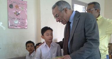 """شمال سيناء تفعل مبادرة """"معلم on line"""" للتواصل بين معلمى وطلاب المحافظة"""