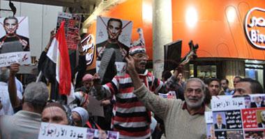 بالصور اشتباكات الغاضبين باسم يوسف