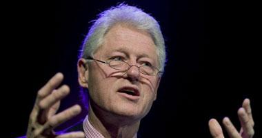 الرئيس الأمريكى الأسبق بيل كلينتون