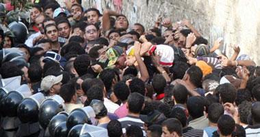 اعتقال مدونين خلال شراء تذاكر مباراة مصر