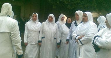 المركز المصرى للحقوق الاقتصادية والاجتماعية ينظم مؤتمرا تضامنيا  لممرضات شبين الكوم