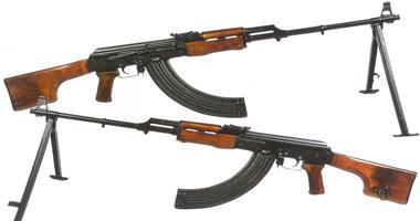 ضبط هارب من تنفيذ حكم بحوزته بندقية آلية بالمحلة S11201012203331