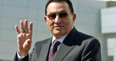 حسنى مبارك الرئيس المصرى السابق