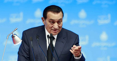 حسنى مبارك رئيس مصر السابق