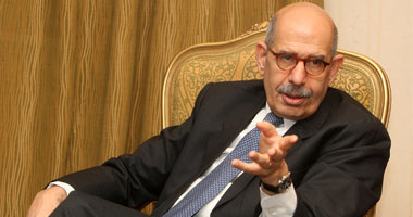 الدكتور محمد البرادعى المدير العام السابق للوكالة الدولية للطاقة الذرية