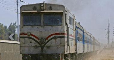 عاجل تعطل حركة القطارات بالمحلة