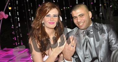صور خطوبة عماد متعب ويارا نعوم مشاهدة حفل خطوبة عماد