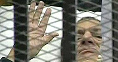 جلسة محاكمة مبارك والعادلى للاستراحة