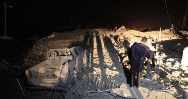 استشهاد سيدة وابنتها فى غارة جوية إسرائيلية على قطاع غزة