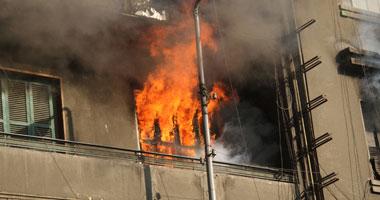 تجديد حبس صاحب عقار أشعل النيران فى شقة لطرد ربة منزل بدار السلام 15 يوما
