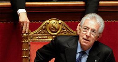 ماريو مونتى رئيس الوزراء الإيطالى